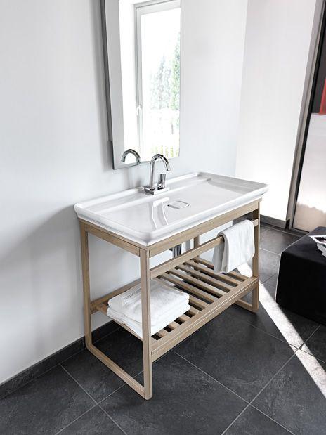 Sleek Bathroom Sink By Artceram