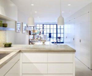 Stylish NY kitchen renovated by Angela A'Court