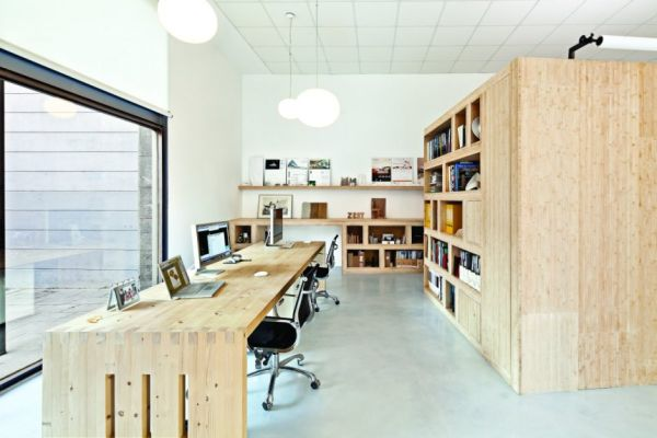 a shared office space designed by zest architecture