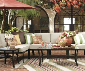 Riviera Sectional Outdoor Bench