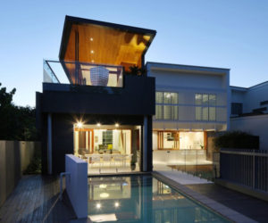 Contemporary 2-story residence in Brisbane, Australia