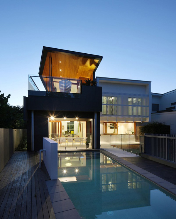 Contemporary 2 story Residence In Brisbane Australia