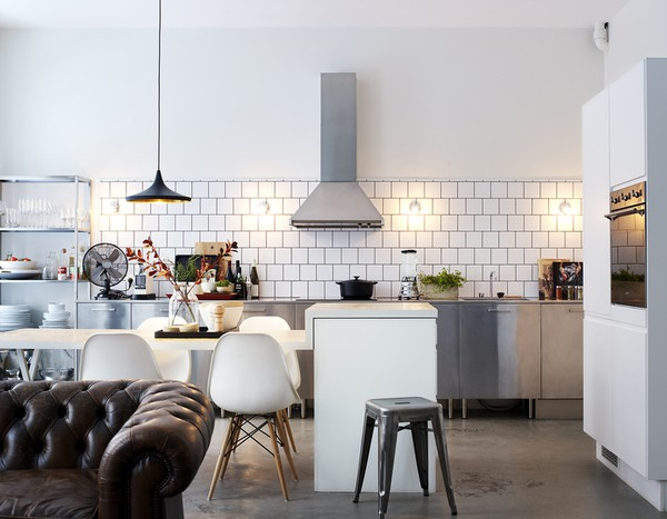 Simple and functional interior design