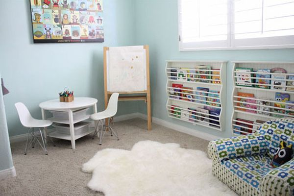 Cozy Playroom With A Friendly D 233 Cor