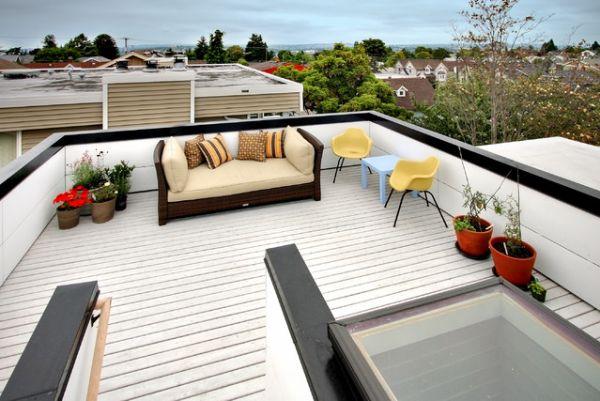5 Beautiful Roof Patios