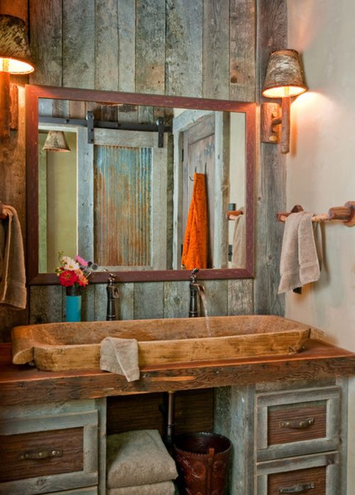 Rustic Bathroom 5 ultra rustic bathrooms