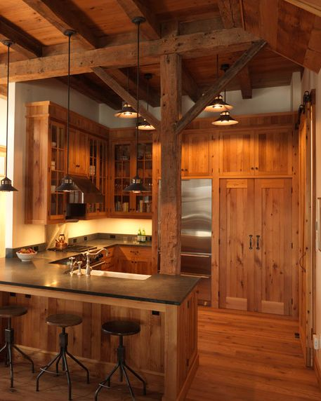 10 different kitchen styles to adopt when redecorating for Rustic chic kitchen ideas