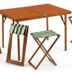 A Practical And Functional Folding Furniture Set Awesome Design