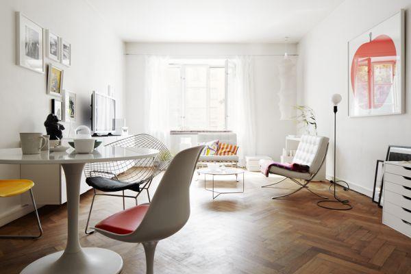 Simple 71 Square Meters Apartment Interior Design