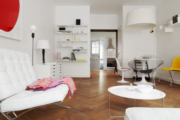 Simple 71 Square Meters Apartment Interior Design