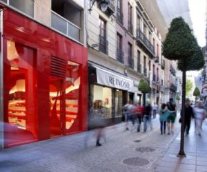 Colorful store renovation by A-cero
