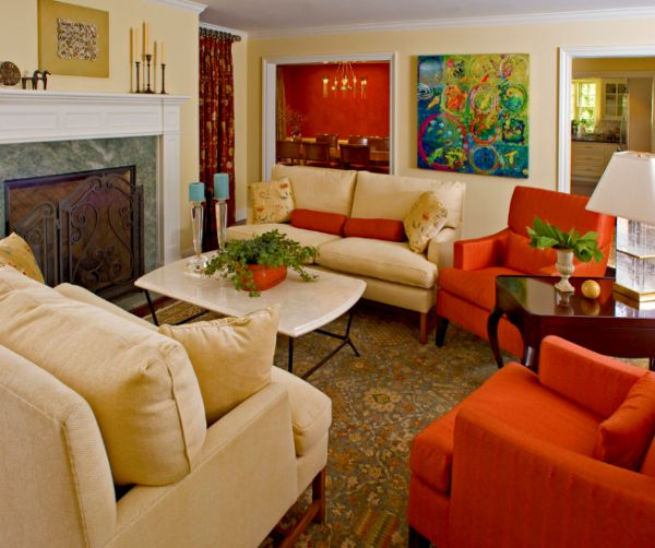 Lovely 10 Traditional Living Room Décor Ideas