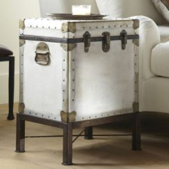 Delightful The Vintage Ludlow Trunk Side Table