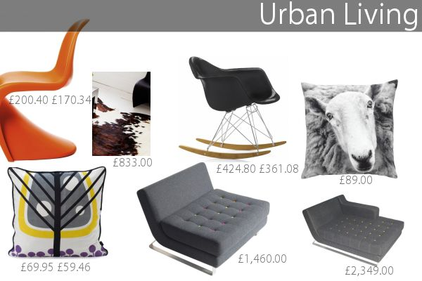 Urban Living Room Design To Steal