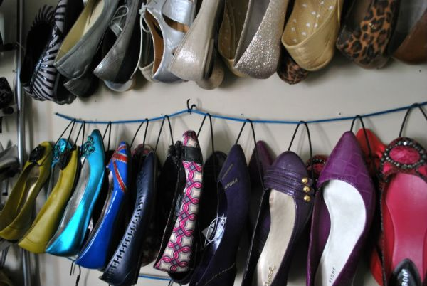 8 out of the box ways to organize your shoes. Black Bedroom Furniture Sets. Home Design Ideas