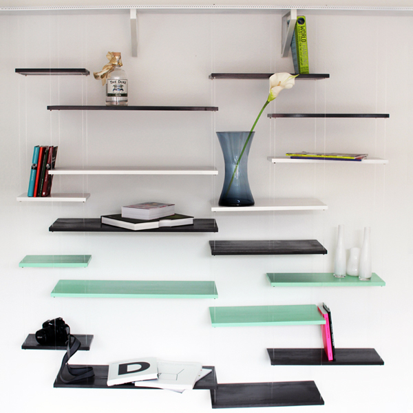 Attractive The Wall Saver Shelves By Frederic Julian Rätsch Awesome Design