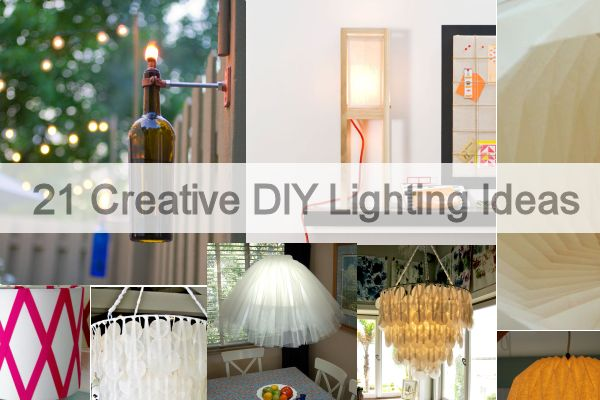 21 creative diy lighting ideas solutioingenieria Images