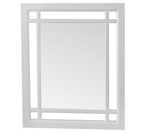 white frame bathroom mirror beautiful white framed neal mirror 21529