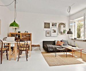 Tastefully-decorated 35 square foot apartment