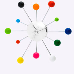 Karlsson Spider Clock