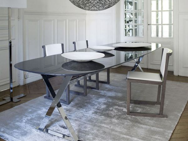 The Refined Pathos Dining Table By B Amp B Italia