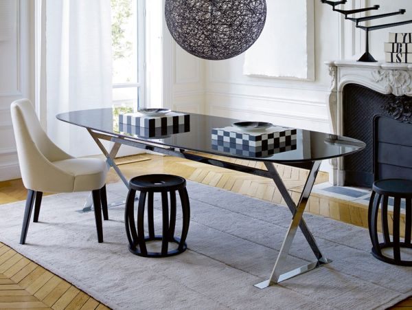 The refined pathos dining table by b b italia for Bb itala