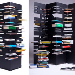B OK An Original Idea For Storing Books And Dividing Your Room Great Pictures