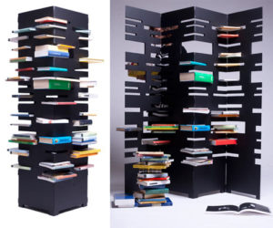 B-OK-an original idea for storing books and dividing your room