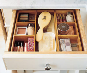 Divider & Conquer Those Bathroom Drawers
