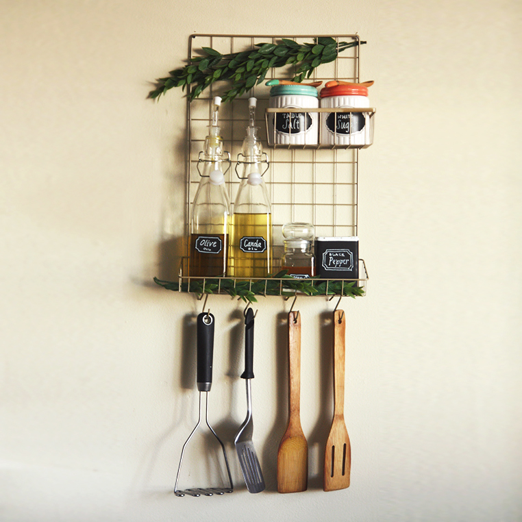 DIY Kitchen Organizer