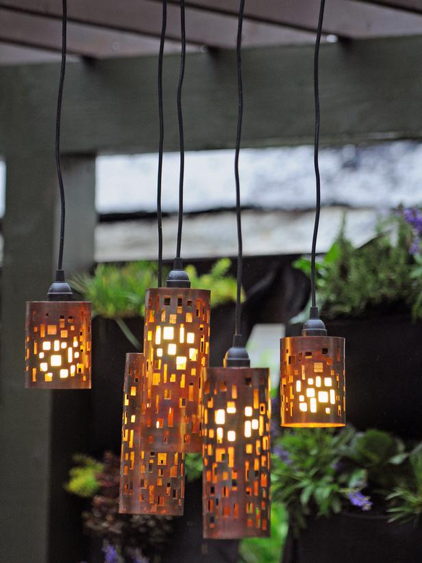 Charmant Candle Holder Pendant Shades.