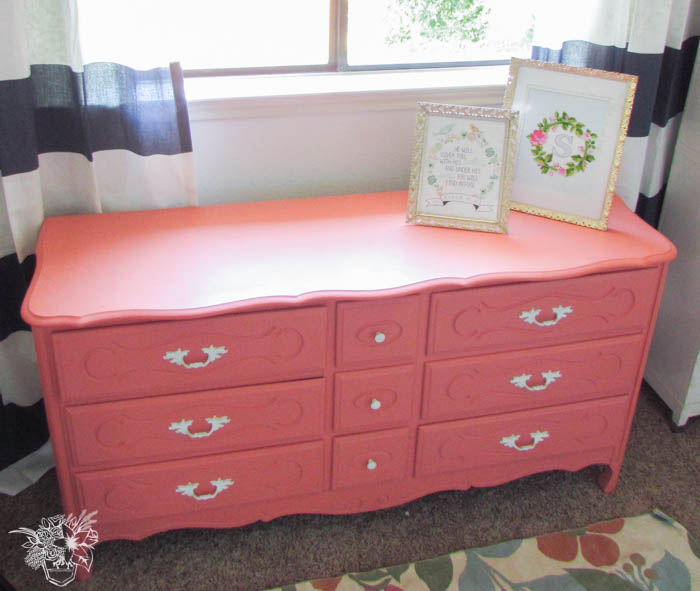 French dressers pale pink design
