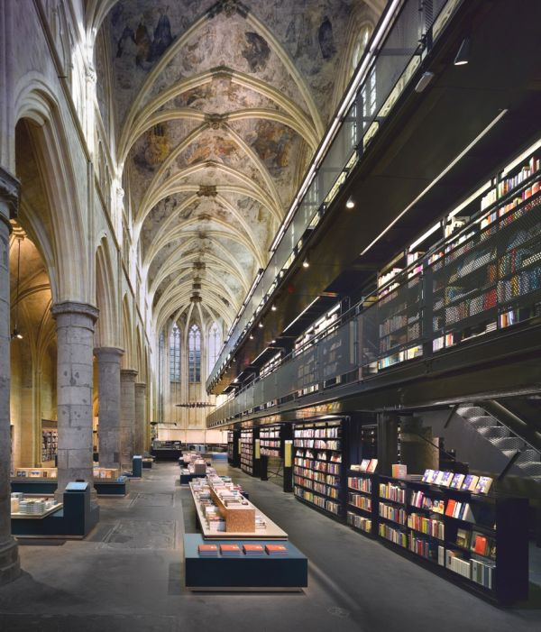 The Bookshop From Gothic Church