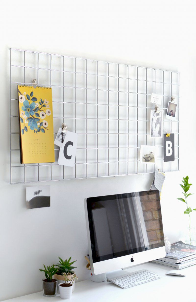 Memo board from wire