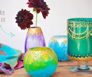 How To Make One-of-a-kind Candle Holders At Home