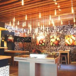 Marvelous Que Bo! A Contemporary Chocolate Mexican Shop. Masculine Feel Office Interior  Design