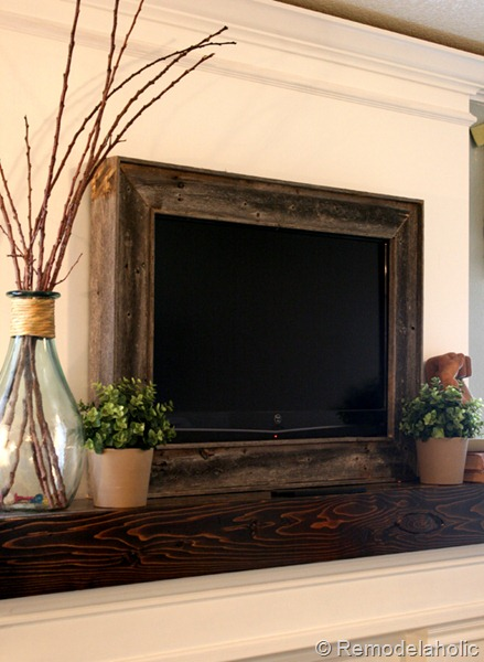TV wood framing