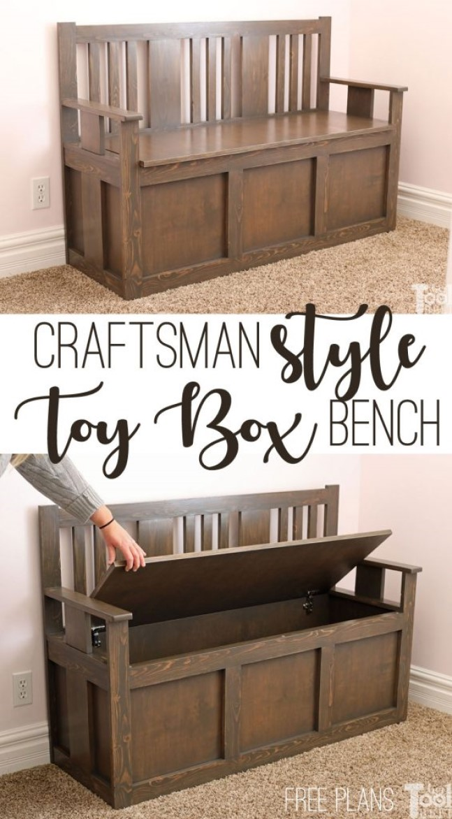benches in the house Toy Box Bench