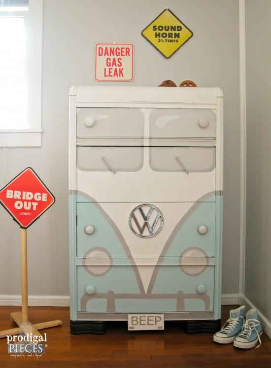 Volkswagen theme dresser