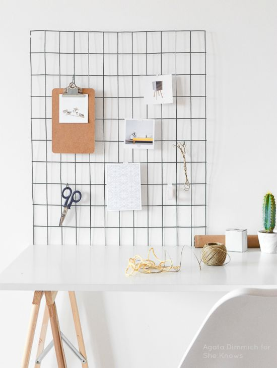 Workspace wall organizer