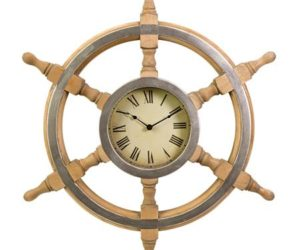 Shipu0027s Wheel Wall Clock Good Ideas