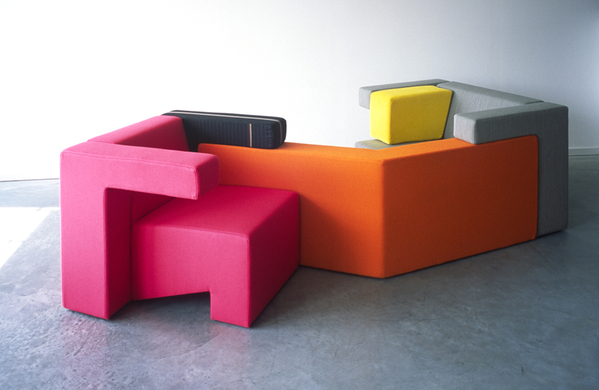 Modular Sofa System By Studio Lawrence