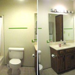 A Stylish Master Bathroom Makeover