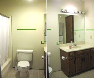 A complete bathroom makeover for only $500