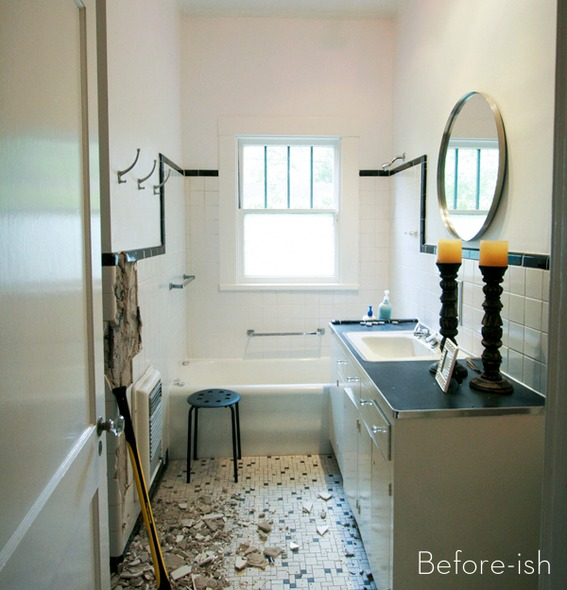 A stylish master bathroom makeover