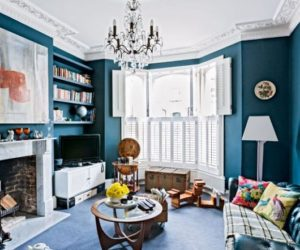 A classical British-style home interior