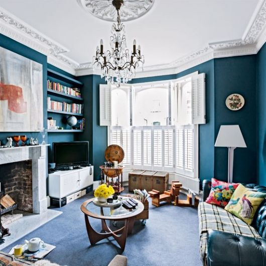 A Classical Britishstyle Home Interior Fascinating Home And Interior Design