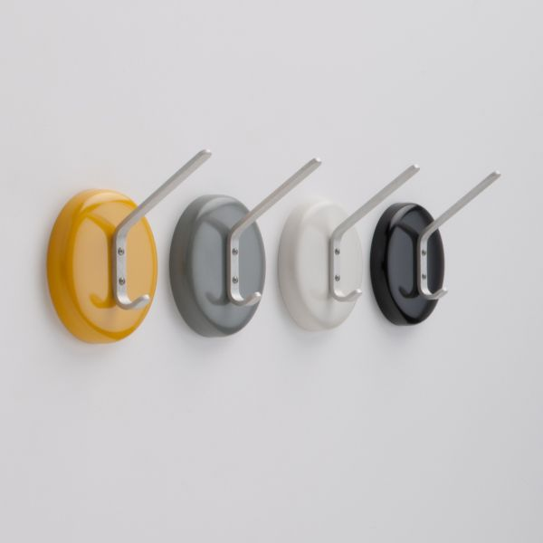 Minimalist city wall hook for Contemporary coat hooks