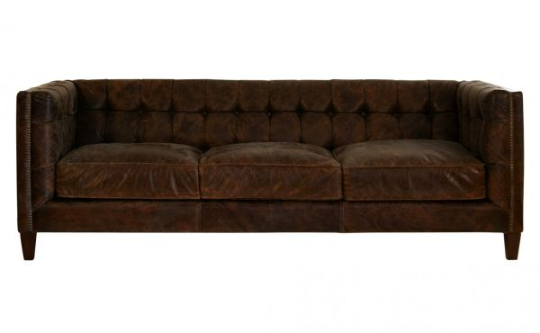 Vintage Leather Abbott Sofa