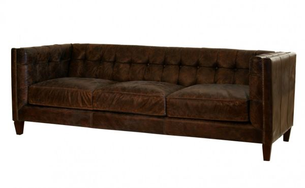 Vintage Leather Abbott Sofa